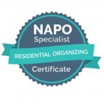 Certificado Residential Organizing susete lourenço