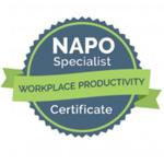 Certificado Workplace Productivity Susete Lourenço