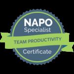 certificado team productivity susete lourenço