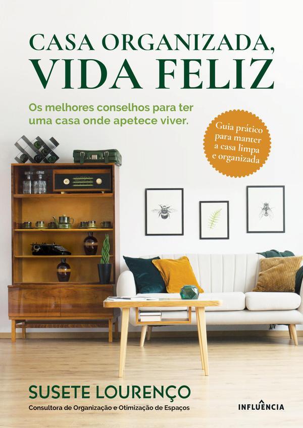 capa livro Susete Lourenço consultora em organização